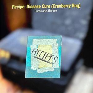 Plan | rare cranberry bog cure