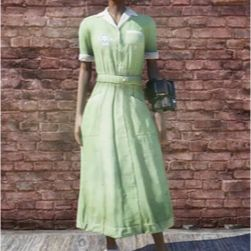 Apparel | green asylum dress
