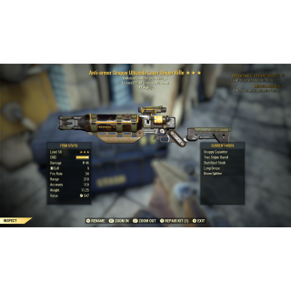 Weapon | AAE laser rifle