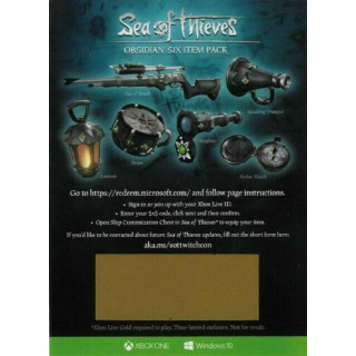 Sea of Thieves - Obsidian Six Items Set (Win10-Xbox)