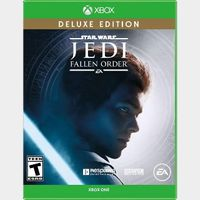 XBOX ONE Star Wars Jedi Fallen Order Deluxe Edition FULL GAME Key