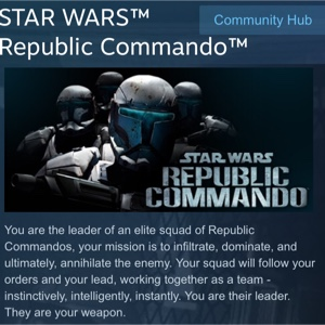 Star Wars Republic Commando (Steam Gift)
