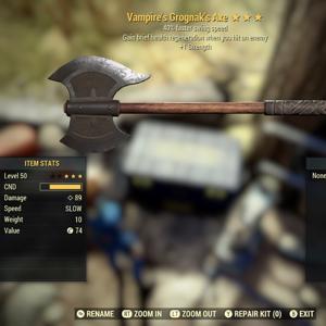 Weapon | Vampires Grognak Axe