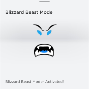 Limited | Blizzard Beast Mode