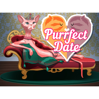 Purrfect Date - Visual Novel/Dating Simulator (PC Windows Steam Key) Instant Delivery