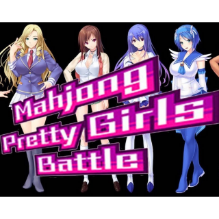 Mahjong Pretty Girls Battle (PC Windows Steam Key Global Digital) Instant Delivery