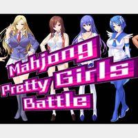 Mahjong Pretty Girls Battle (PC Windows Steam Key Global Digital) Instant Delivery