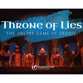 Throne of Lies® The Online Game of Deceit (PC Windows Mac Steam Key Global Digital) Instant Delivery