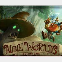 Nine Worlds - A Viking saga (PC Windows Mac Steam Key Global Digital) Instant Delivery