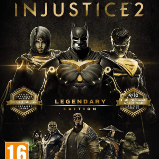 Injustice 2 Legendary Edition (PC Windows Steam Key Global Digital) Instant Delivery