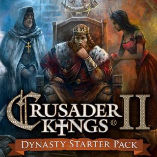 Crusader Kings II: Dynasty Starter Pack (PC Windows Mac Steam Key Global Digital) Instant Delivery