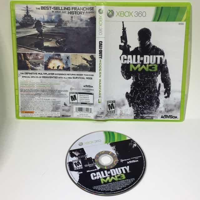 Call Of Duty Modern Warfare 3 Mw3 Xbox 360 Tested Working Xbox