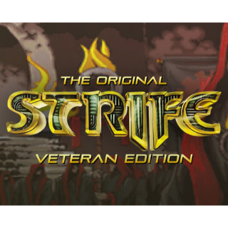 The Original Strife: Veteran Edition (PC Windows Mac Steam Key) Instant Delivery