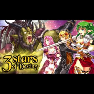 3 Stars of Destiny (PC Windows Steam Key Global Digital) Instant Delivery