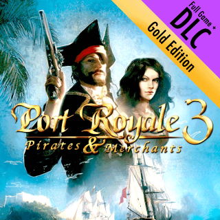 Port Royale 3 Gold Edition (Full Game + DLC Digital Steam Key Windows)