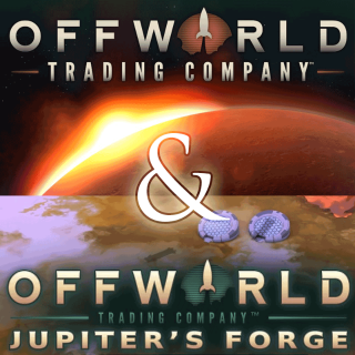 Offworld Trading Company and Jupiter's Forge DLC (PC Windows Mac Digital Steam Key Global) Instant Delivery