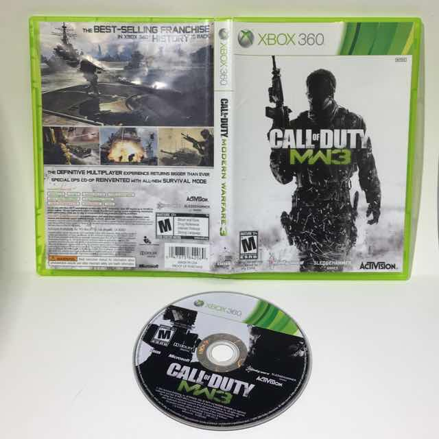 Call Of Duty Modern Warfare 3 Mw3 Xbox 360 Tested Working Xbox 360 Games Good Gameflip