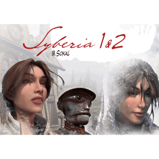 Syberia 1 and 2 (PC Windows Mac Steam Key Global Digital) Instant Delivery