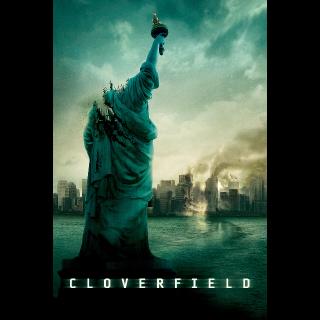 Cloverfield Digital HD Itunes Code