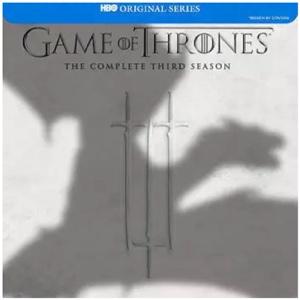 Game Of Thrones Season 3 Digital Itunes UV Code