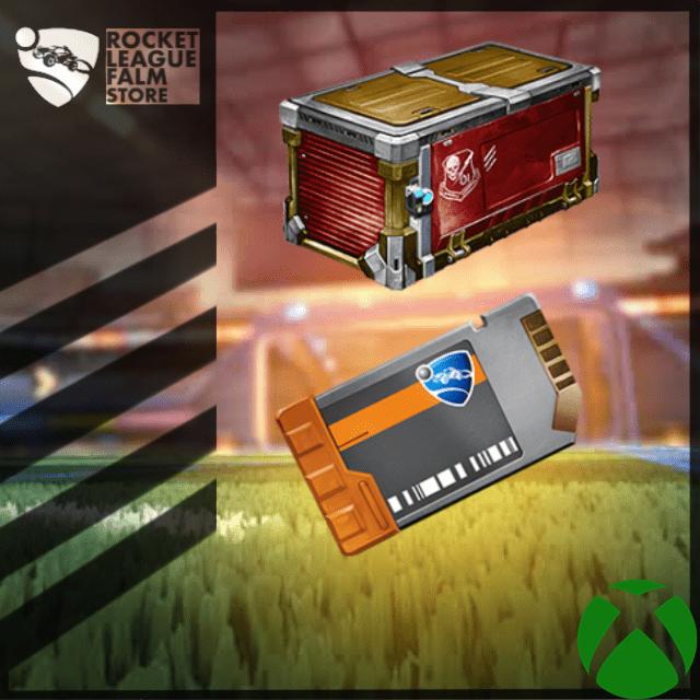 Bundle   100x Players Choice Crate + 100x Key
