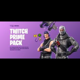 Warframe Twitch Prime Loot 2019