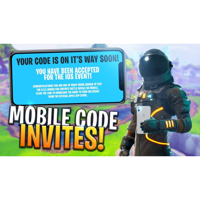 Fortnite Mobile Redeem Code Ios Only Mobile Games