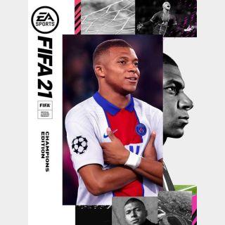 FIFA 21: Champions Edition - Origin - KEY GLOBAL - Auto Delivery