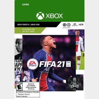 FIFA 21 – Xbox Series X|S – Xbox One  US Region