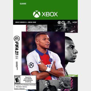 FIFA 21 Champions Edition  – Xbox Series X|S – Xbox One Digital Code - US - Auto Delivery
