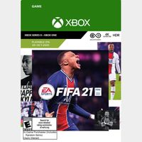 FIFA 21 – Xbox Series X|S – Xbox One  US Region