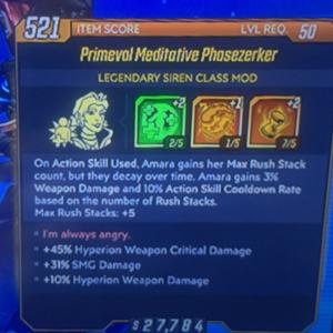 Class Mod | phasezerker