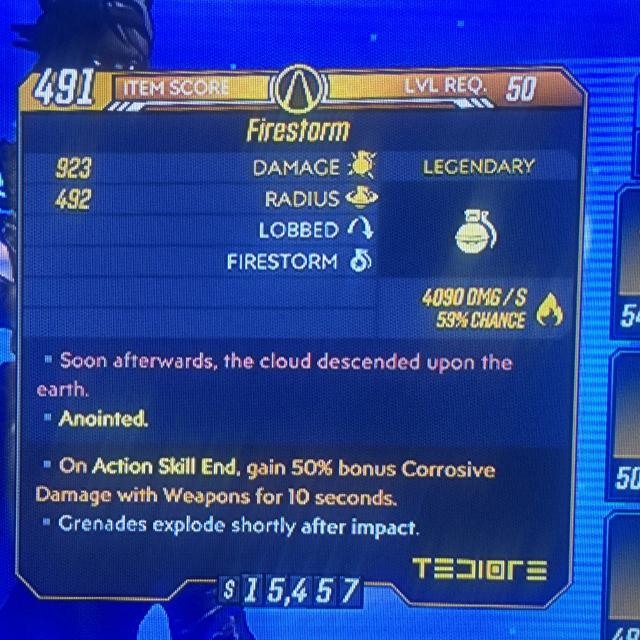Grenade | Firestorm 50 bonus corr