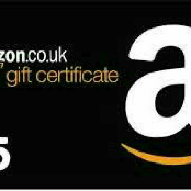 Selling Gift Card Amazon Uk 5 00 Other Gift Cards Gameflip