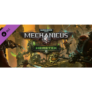 WARHAMMER 40,000: MECHANICUS - HERETEK DLC STEAM KEY