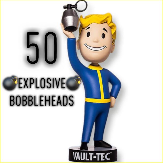 Aid   50x Explosive Bobbleheads