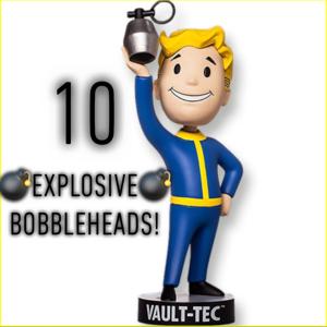 Aid   10x Explosive Bobbleheads