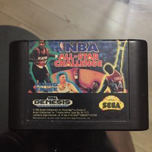 NBA All Star Challenge for Sega Genesis