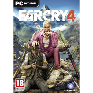 Far Cry 4 PC Uplay EUROPE