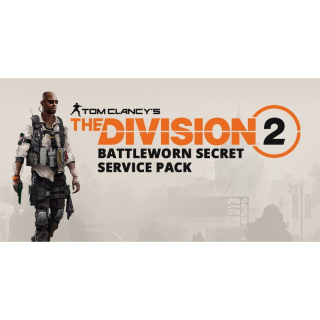 Tom Clancy's The Division® 2 - Battleworn Secret Service Pack PS4 ONLY SPAIN!