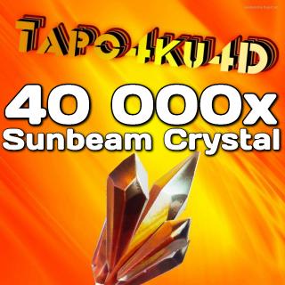 Sunbeam Crystal | 40 000x