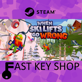 When Ski Lifts Go Wrong Steam Key | GLOBAL | Instant delivery