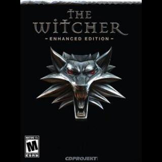 The Witcher: Enhanced Edition GOG.COM Key GLOBAL