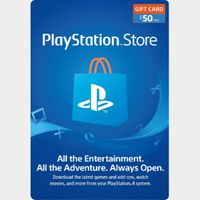 $50.00 PlayStation Store [2x25][BUNDLE]