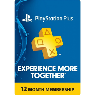 PlayStation Plus 12 months [USA]