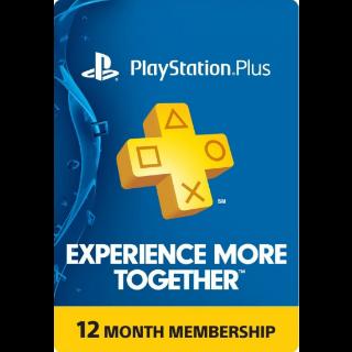 PlayStation Plus 12 months [AU]
