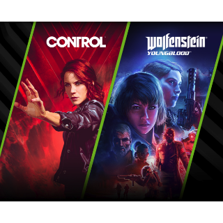 Control & Wolfenstein Youngblood [Epic Game Store & Bethesda Launcher] [RTX CARDS Only]