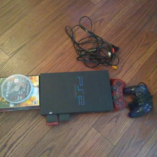 Ps2 Console And Lot.