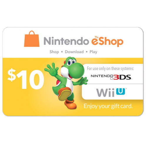eCash - Nintendo eShop Gift Card  10 - Switch   Wii U   3DS  Digital Code  b1723a971e0