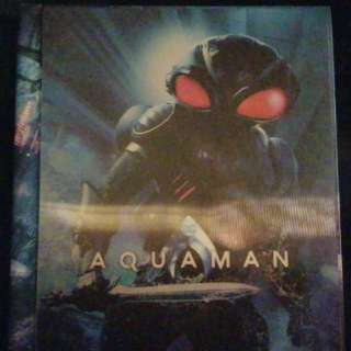 Dc Aquaman Blu-ray and Dvd Disc Set With Book